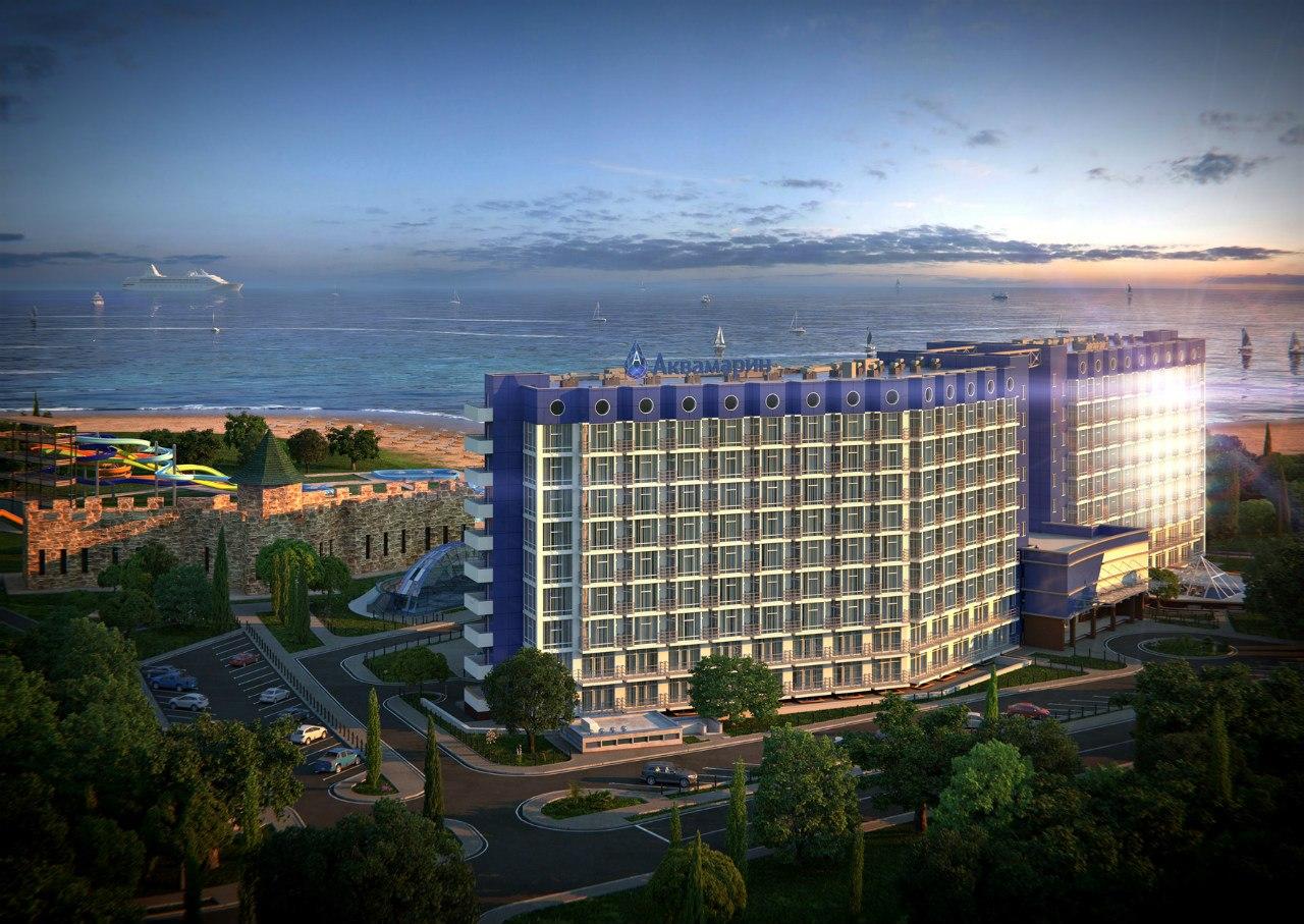 Отель Aquamarine Resort & SPA